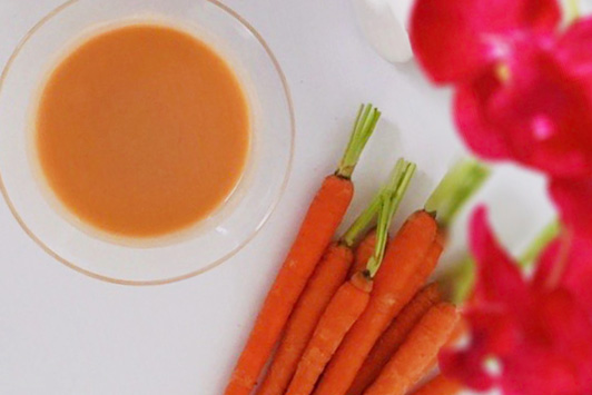 24 carrot mocktail drink