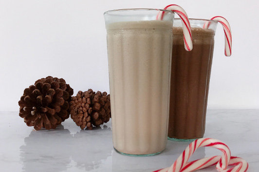 Candy Cane Smoothie